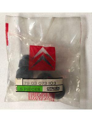 Citroen BX doorvoerrubber,kabelstop NIEUW EN ORIGINEEL 7903073103
