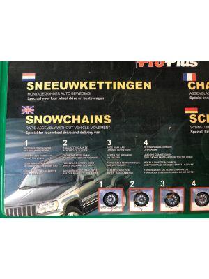 Sneeuwkettingen PRO PLUS 002319702 NIEUW