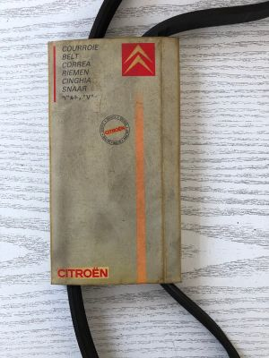 Citroen XM waterpompriem NIEUW EN ORIGINEEL 1280.28