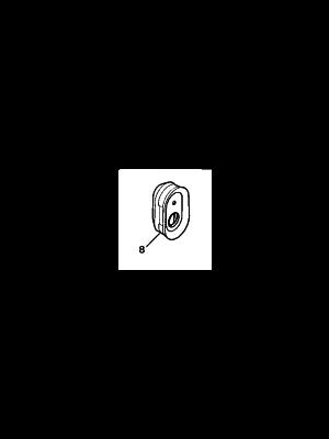 Citroen AX BX C15 schakelaarkapje NIEUW EN ORIGINEEL 96008275