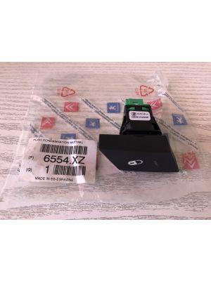 Citroen C4 PICASSO schakelaar centrale deurvergrendeling 6554.XZ