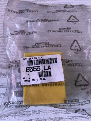Citroen JUMPER relais slotbediening NIEUW/ORIGINEEL 6555.LA