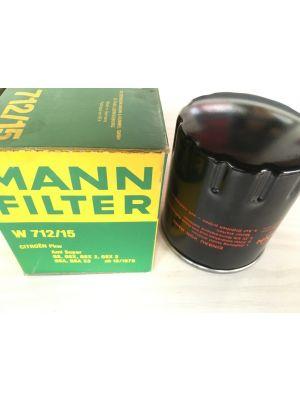 Citroen Ami Super/GS/GSX/GSA  oliefilter MANN FILTER W712/15
