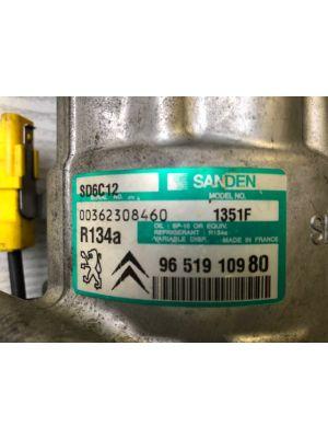 Citroen C4 compressor airco ORIGINEEL 6453.QK