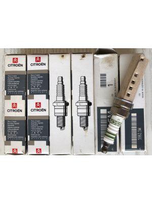 Citroen C3,C4,C5,C8 bougies BOSCH (6X) NIEUW EN ORIGINEEL 5962.5M