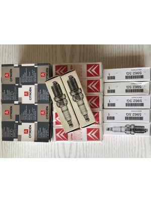 Citroen AX,BX,XANTIA,XM bougies EYQUEM (10X) NIEUW EN ORIGINEEL 5962.5G