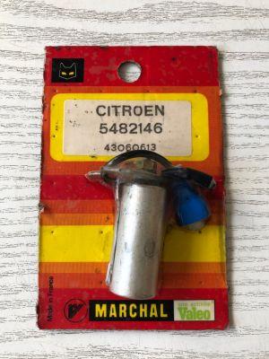 Citroen GS,GSA,AMI SUPER,CX condensator NIEUW EN ORIGINEEL 5482146