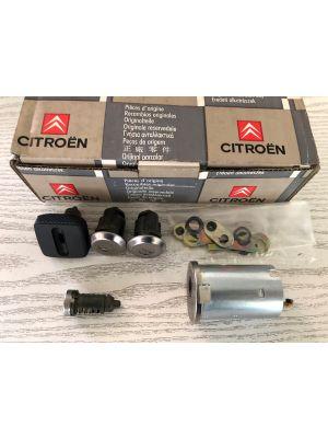 Citroen AX stuurslot/slotset NIEUW EN ORIGINEEL 4162.G0