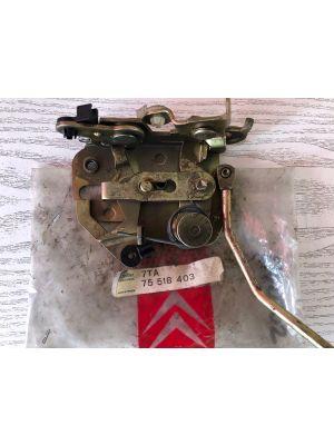 Citroen AXEL portierslot NIEUW EN ORIGINEEL 7TA75518403
