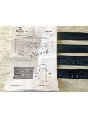 Citroen C4 instaplijsten RVS NIEUW EN ORIGINEEL 9400.A7