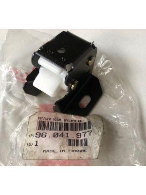 Citroen AX slot achterklep NIEUW EN ORIGINEEL 96041977
