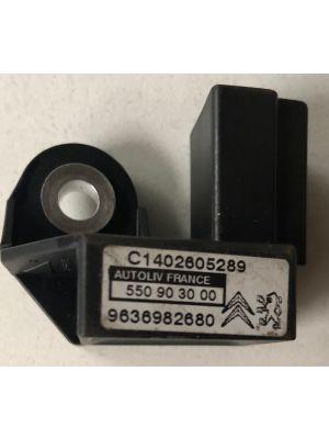 Citroen Xsara Picasso,C4 airbagsensor NIEUW EN ORIGINEEL 9636982680