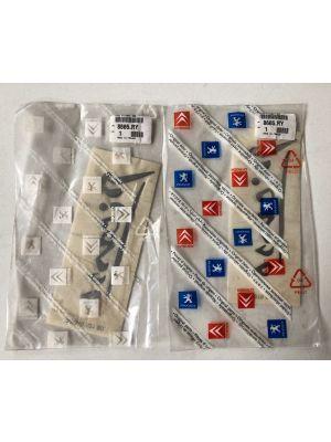 Citroen XSARA PICASSO embleem,logo NIEUW EN ORIGINEEL 8665.RY