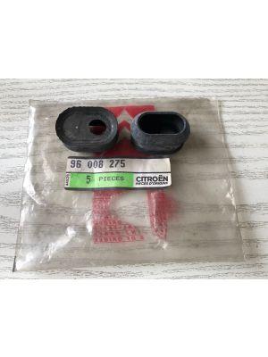 Citroen AX,BX,C15,XM rubber portier (2X) NIEUW EN ORIGINEEL 96008275