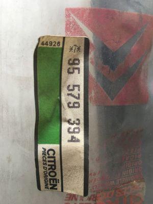 Citroen BX lijst/rubber spatbord NIEUW EN ORIGINEEL 95579394