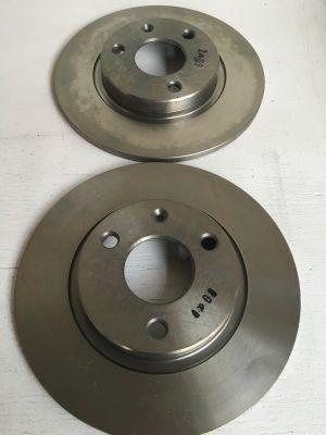 Citroen AX set remschijven (voor) NIEUW EN ORIGINEEL 95661811