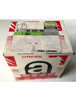 Citroen C35 remblokset NIEUW EN ORIGINEEL 95600561