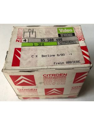 Citroen CX remblokset NIEUW EN ORIGINEEL 95588498