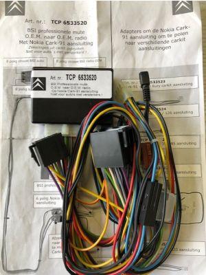 Citroen BSI NOKIA Cark-91 TCP 6533520