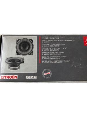Citroen SAXO speakerset (achter) NIEUW EN ORIGINEEL 9478.37