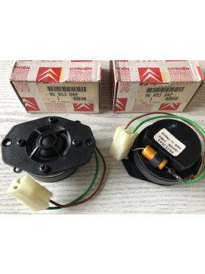 Citroen XM speakerset dashboard NIEUW EN ORIGINEEL 96053642