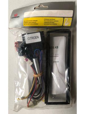 Citroen autoradio adapter kit NIEUW EN ORIGINEEL 9475.43