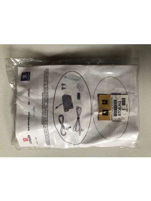 Citroen AUX-aansluitset (RD4-radio) NIEUW EN ORIGINEEL 9706.AG