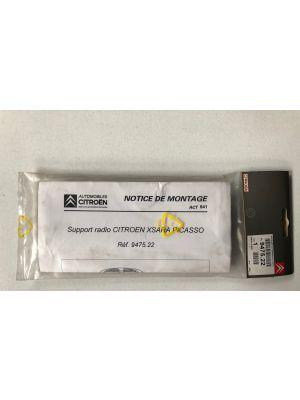 Citroen XSARA Picasso frame autoradio NIEUW EN ORIGINEEL 9475.22