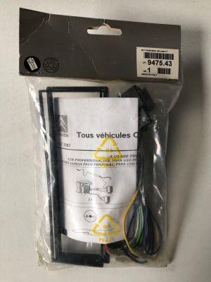 Citroen radio-adapter set NIEUW EN ORIGINEEL 9475.43