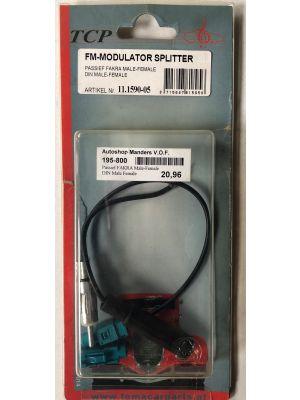 Citroen FM-modulator splitter NIEUW 11.159-05