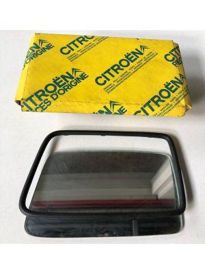 Citroen BX spiegelglas (links) NIEUW EN ORIGINEEL 95604781