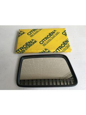Citroen BX spiegelglas (rechts) Nieuw en origineel 95604782