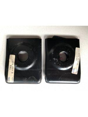 Citroen CX spiegelplaat (2X) NIEUW EN ORIGINEEL 5432945