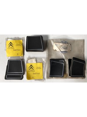 Citroen DS,CX spiegelplaat,sticker (44X) NIEUW EN ORIGINEEL 5407441