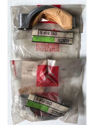Citroen DS uitlaatklem (2X) NIEUW EN ORIGINEEL 5412150