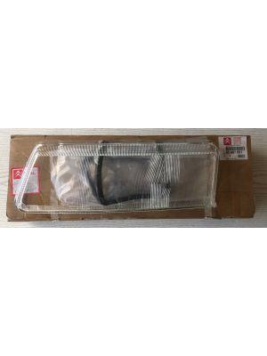 Citroen XANTIA koplampglas (links) NIEUW EN ORIGINEEL 95667951