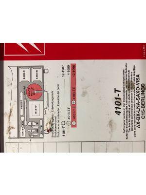 Citroen AX,BX,LNA,VISA,SAXO,C15,BERLINGO koffer speciaal gereedschap 4101.T