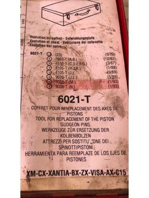 Citroen XM CX koffer speciaal gereedschap 6021-T COMPLEET