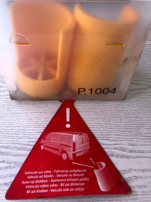 Citroen speciaal gereedschap P.1004 blokken / steun