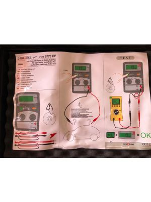 Citroen speciaal gereedschap 9776.EV isolatie tester
