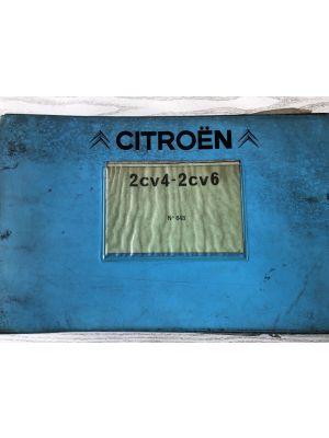 Citroen 2 CV 4 / 2 CV 6 onderdelenboek No 643