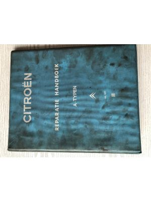 Citroen A-TYPE werkplaatshandboek No 621 vanaf 1963