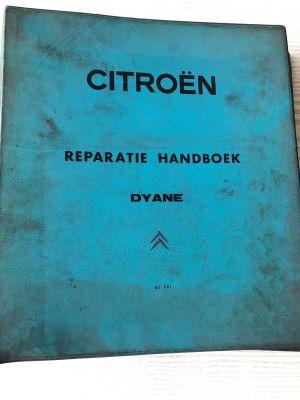 Citroen 2CV werkplaatshandboek No 536