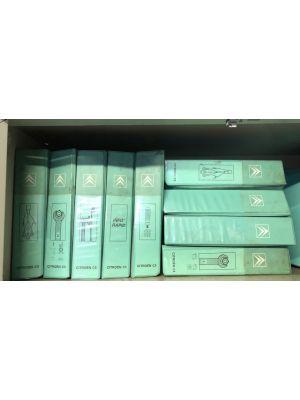 Citroen C5 werkplaatshandboeken werkplaatsmappen