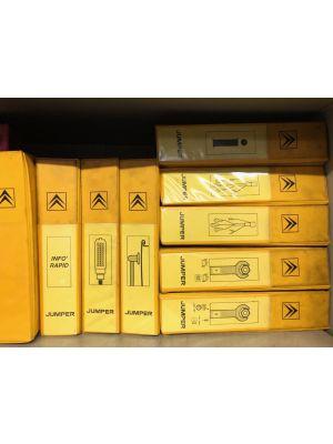Citroen JUMPER werkplaatshandboeken werkplaatsmappen