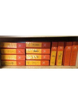 Citroen SAXO werkplaatshandboeken werkplaatsmappen