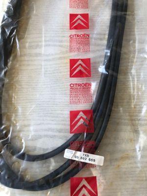 Citroen BX ruitrubber achterklep NIEUW EN ORIGINEEL 95592669